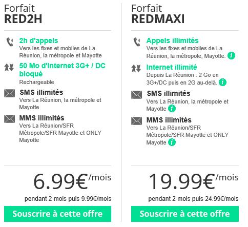 RED by SFR passe au vert et augmente ses tarifs