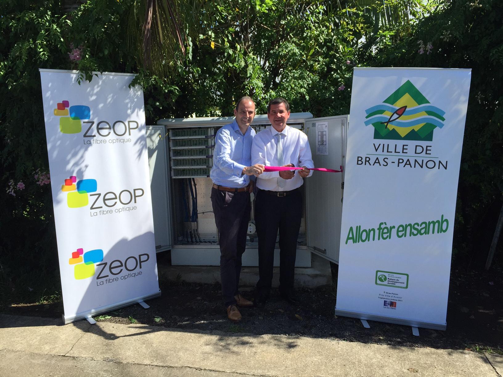 ZEOP: La fibre débarque à Bras Panon