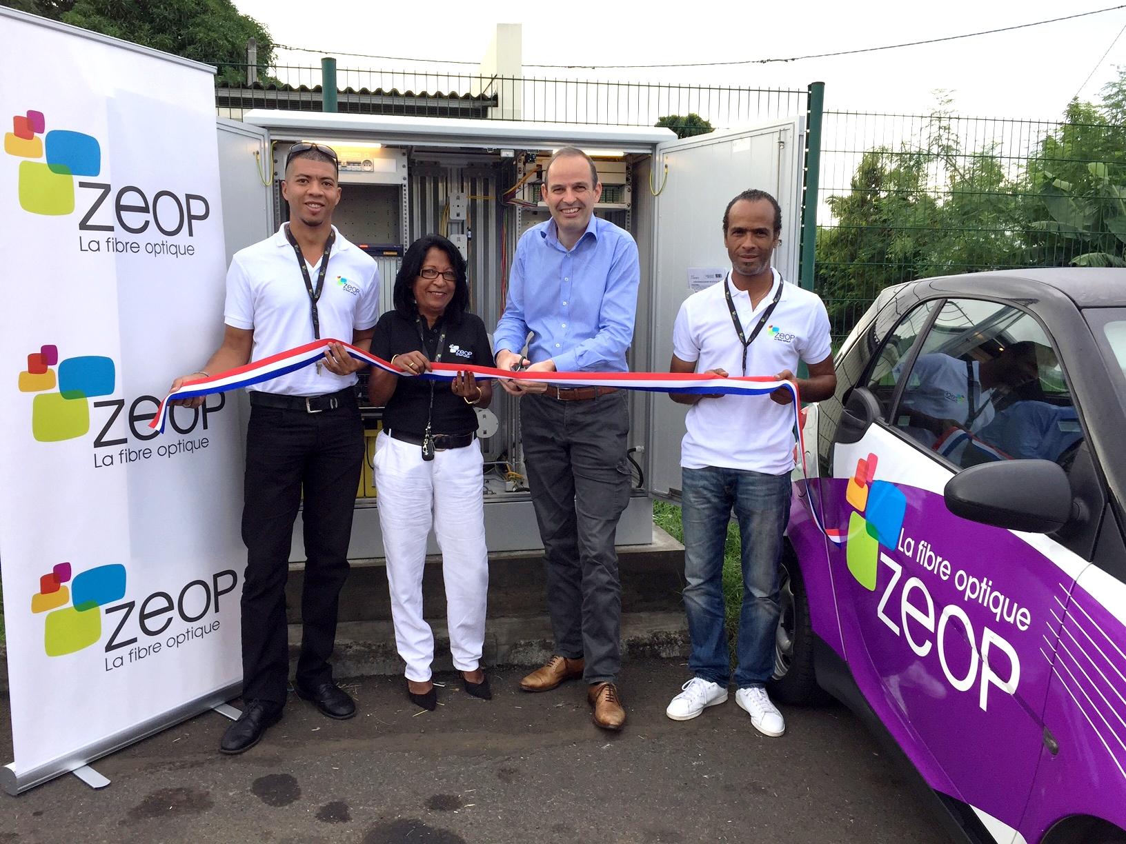 ZEOP déploie la fibre optique à l'Étang-Salé