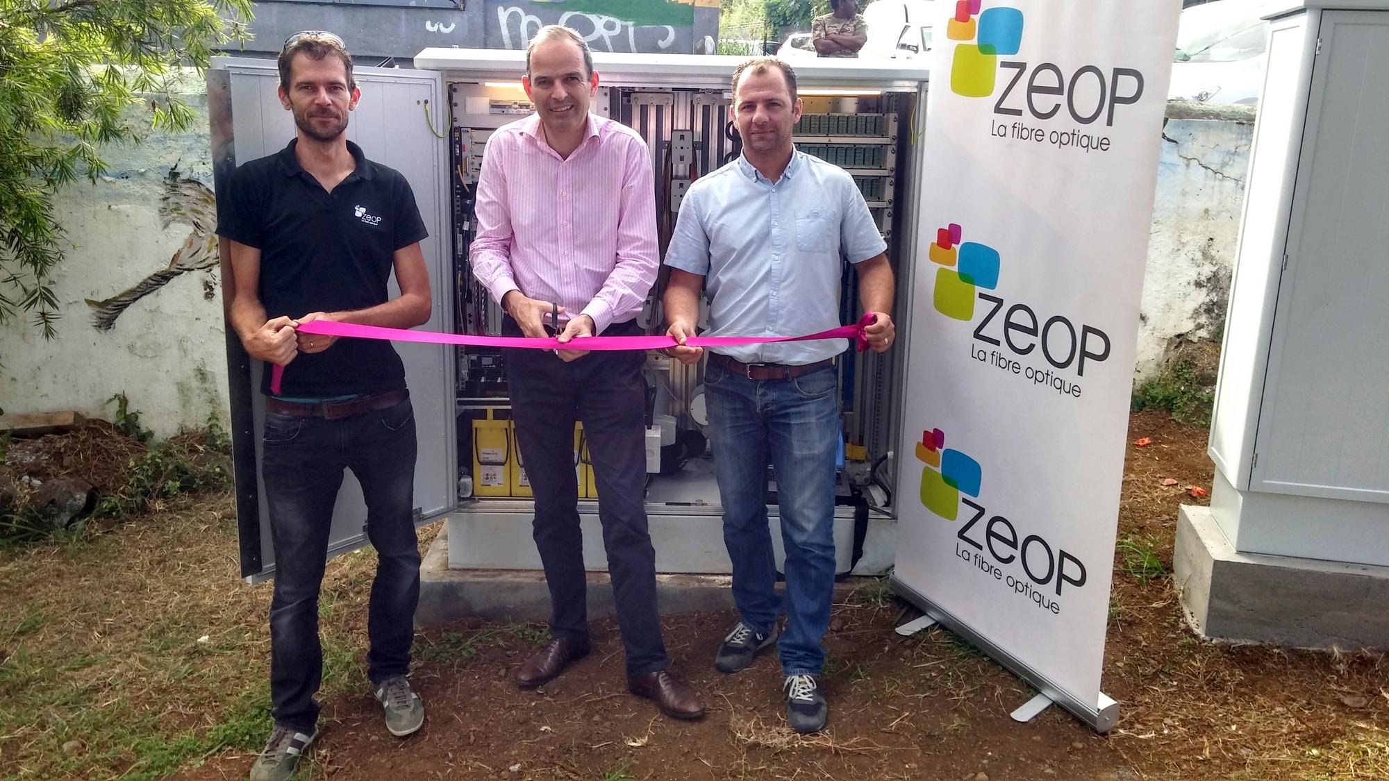 ZEOP: Fleurimont et les hauts de St Gilles passent à la fibre optique