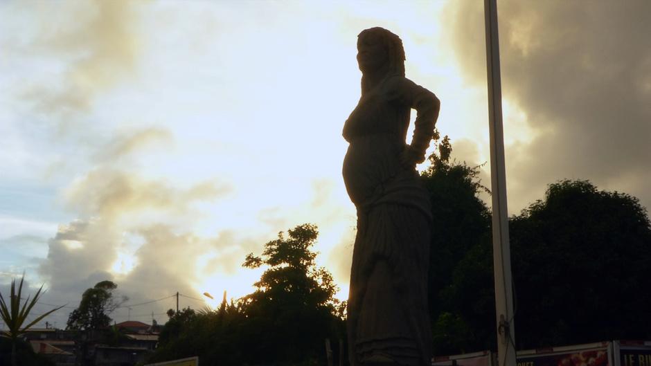 Statue Solitude