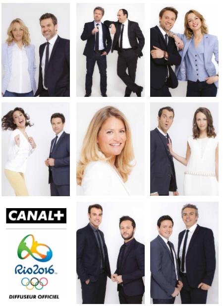 Rio 2016: 100% des Jeux Olympiques, du 5 au 21 Août sur les chaînes du Groupe Canal+