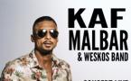 Kaf Malbar & Weskos Band en concert live évènement à la Cigale à Paris