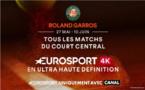 Canal propose en exclusivité le tournoi de Roland Garros en 4K