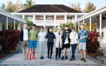 National Geographic Chine et la star chinoise Zhou BICHANG en voyage de presse à La Réunion