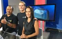 Polynésie 1ère en direct de la Billabong Pro