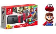 Nintendo annonce un pack Nintendo Switch + Super Mario Odyssey pour Noël