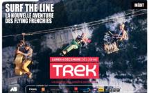 """Documentaire: """"Surf the Line"""", la nouvelle aventure des Flying Frenchies, Lundi 4 décembre sur TREK"""
