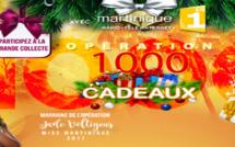 """Martinique 1ère: Jade Voltigeur, Miss Martinique 2017, marraine de l'Opération """"1000 Cadeaux"""" 2017"""