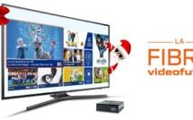 """Vente Flash spéciale """"Fêtes"""" avec la Fibre Vidéofutur: 3 mois offerts + frais de raccordement et d'activation offerts"""