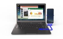 CES 2018: Mirabook: l'ultime accessoire pour les modes PC de Samsung et Huawei