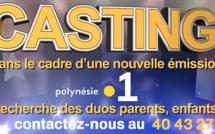 Casting: Polynésie la 1ère recherche des duos parents, enfants pour une nouvelle émission