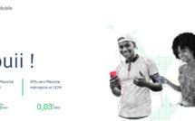 Capture écran du site de Maoré Mobile