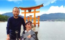 """""""Lucie au pays du soleil levant"""": L'aventure japonaise de Lucie Carrasco et Jérémy Michalak, le 23 janvier sur ELLE Girl TV"""