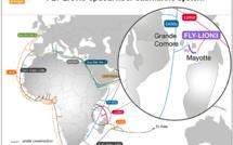 Mayotte / Fly-LION3: Un câble de 400 kilomètres pour sécuriser le réseau internet