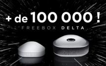 Free: La Freebox Delta a séduit + de 100 000 abonnés