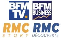 Les chaînes et services associés de BFMTV, RMC Découverte, RMC Story, BFM Business ne sont plus mis à disposition de Free (Maj2)