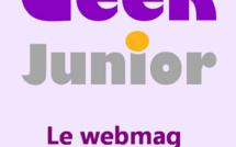 Geek Junior, le média pour les ados connectés, sort son application mobile
