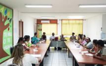 Réunion préparatoire avec la fédération Te Niu o Te Huma, présidée par Henriette KAMIA.