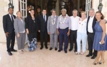 Polynésie: Wallès kotra reçu à la Présidence