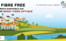 La Fibre Free désormais disponible sur le RIP Berry Fibre Optique