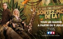 """""""Je suis une célébrité... Sortez-moi de là"""" de retour sur TF1 à partir du 9 juillet"""