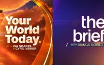 CNN International: Deux nouvelles emissions en direct de Londres, le programme quotidien phare prolongé d'une heure
