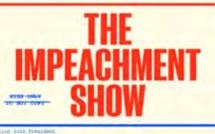 """La destitution de Donald Trump sujet central de """"The Impeachment Show"""" chaque jeudi sur Viceland"""