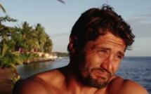 Bixente Lizarazu en Polynésie pour le tournage d'un documentaire