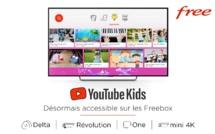 YouTube Kids désormais accessible sur les Freebox