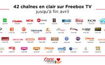 Freebox TV : plus de 40 chaînes mises en clair en avril