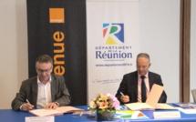 Le Département de La Réunion s'associe à l'opération #Nourestensamb d'Orange