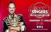 """Jarry à l'animation de """"Good Singers, à vous de trouver les bons chanteurs"""" le nouveau divertissement musical de TF1, le 17 juillet"""