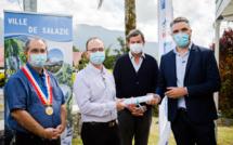 La Réunion: La Fibre Optique arrive à Hell-Bourg (Salazie)