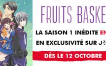 FRUITS BASKET: La saison 1 inédite en VF en exclusivité sur J-ONE dès le 12 octobre