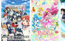 """J-ONE lance en exclusivité 3 nouveaux animés """"girl power"""" juste après le Japon"""