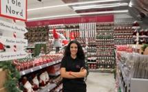 Sandrine, directrice du magasin R'déco Le Port