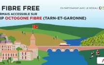 L'offre Fibre Free devient accessible pour les habitants du Tarn et Garonne desservis par le Réseau d'Initiative Publique Octogone Fibre