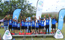 Les jeunes joueurs de l'AS Ste Suzanne remportent la finale de la Danone Nation Cup Réunion 2020