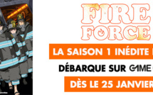 La saison 1 inédite de FIRE FORCE en VF et en exclusivité sur GAME ONE dès le 25 janvier
