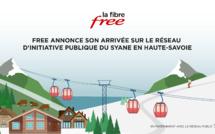 Free annonce son arrivée sur le Réseau d'Initiative Publique (RIP) du Syane en Haute-Savoie