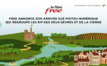 Fibre : Free annonce son arrivée sur Poitou