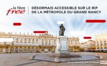 La Fibre Free désormais accessible sur le RIP de la Métropole du Grand Nancy