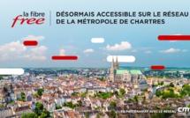 La Fibre Free désormais accessible sur le réseau de la Métropole de Chartres