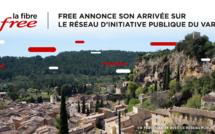 Free annonce son arrivée sur le réseau d'initiative publique du Var