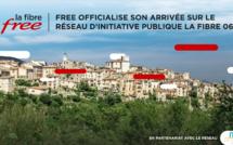 Free officialise son arrivée sur le Réseau d'Initiative Publique La Fibre 06