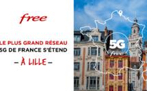 Le réseau 5G de Free s'étend à Lille