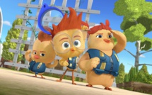 """La série """"La Brigade des Poussins"""", inspirée de la célèbre série de livres pour enfants, débarque le samedi 18 septembre sur Disney Junior"""