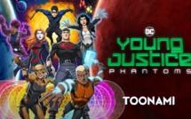 Young Justice Phantoms débarque dès le 16 décembre sur Toonami