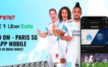 Le classico OM-PARIS SG proposé gratuitement sur Free Ligue 1 en extraits en quasi-direct
